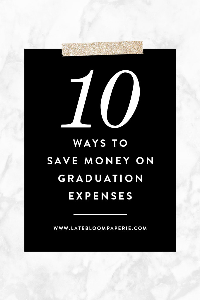 10 Ways to Save Money on Graduation Expenses